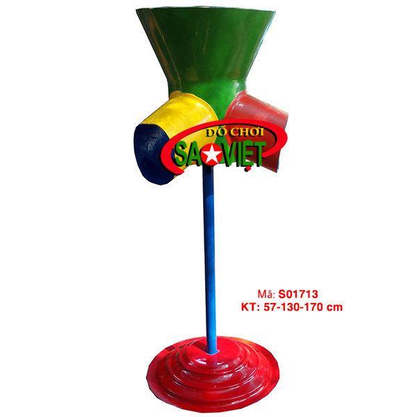 Cột bóng rổ 3 vòng