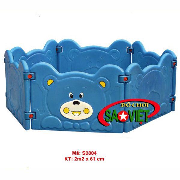 Nhà banh mini gấu