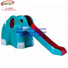 Cầu trượt hình con voi