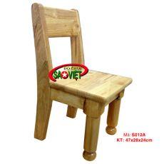 Ghế gỗ cao su trẻ em