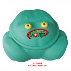 Bồn chơi cát con ếch