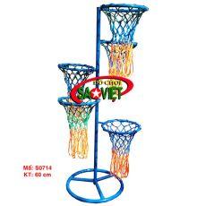 Cột ném bóng rổ 5 vòng