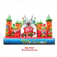 Nhà hơi con thỏ