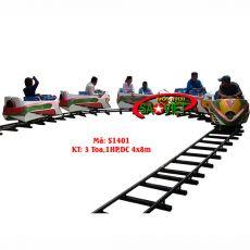 Tàu xe lửa điện 2/3/4 toa