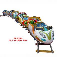 Xe lửa điện 1 đầu 3 toa nhỏ