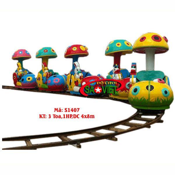 Tàu lửa điện hình cây nấm
